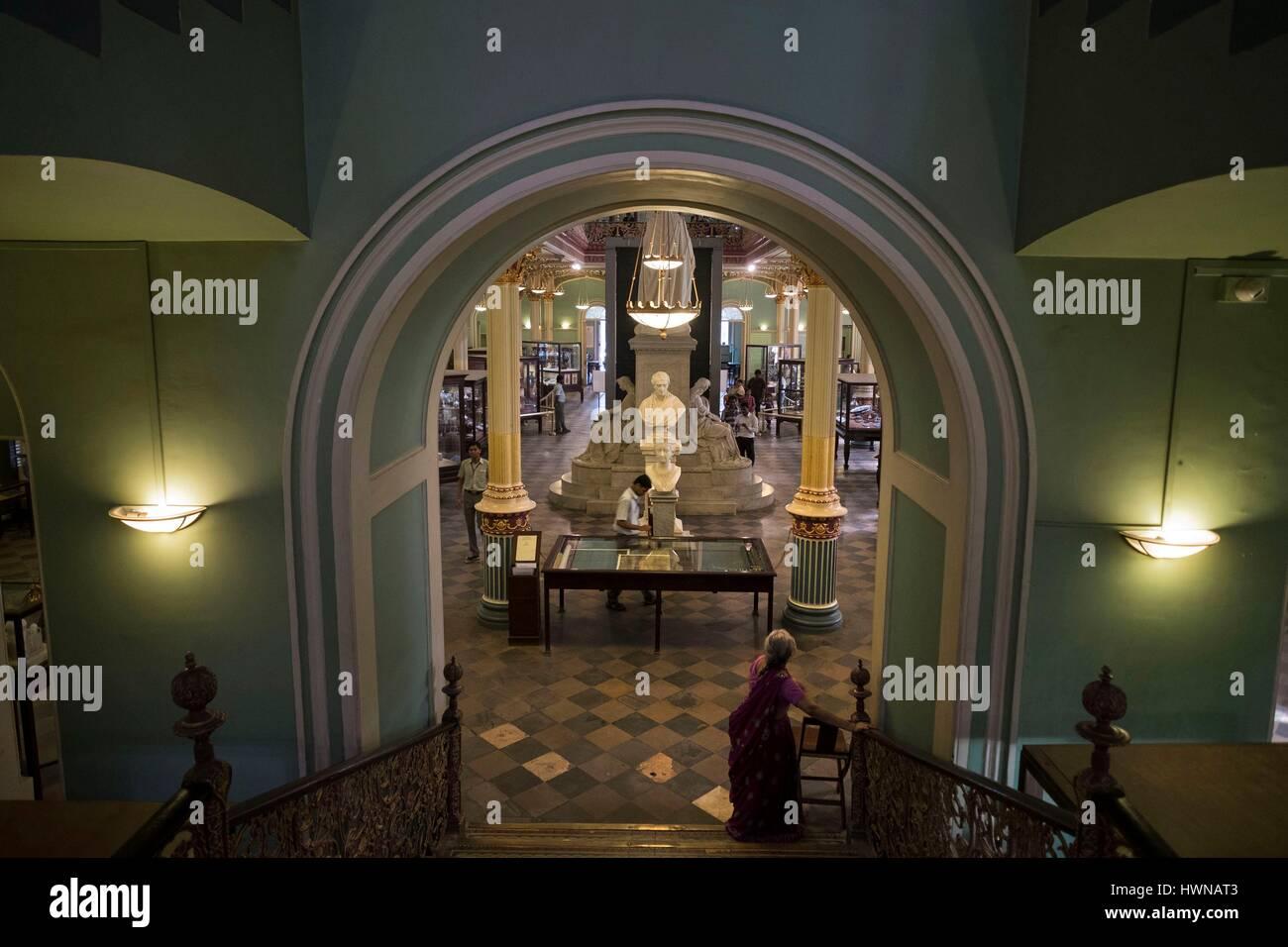 India, Maharashtra State, Mumbai or Bombay, Dr. Bhau Daji Lad Mumbai City Museum, - Stock Image