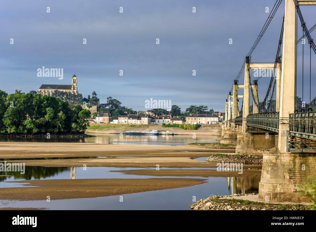 France, Maine Et Loire, Loire Valley Listed As World Heritage By UNESCO,  Montjean