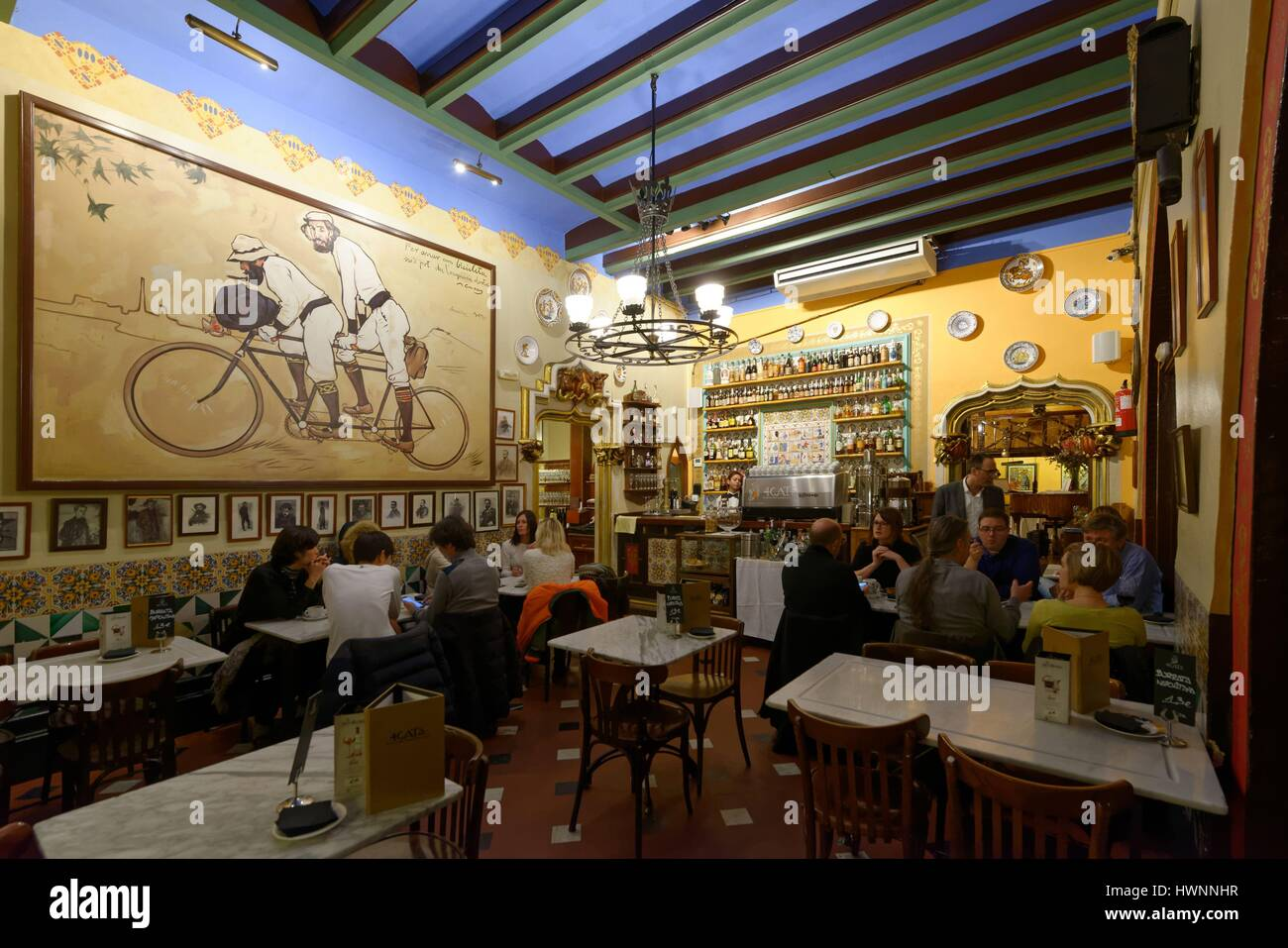 Restaurant Gats Barcelona : Els gats treffpunkt der modernisten in barcelona