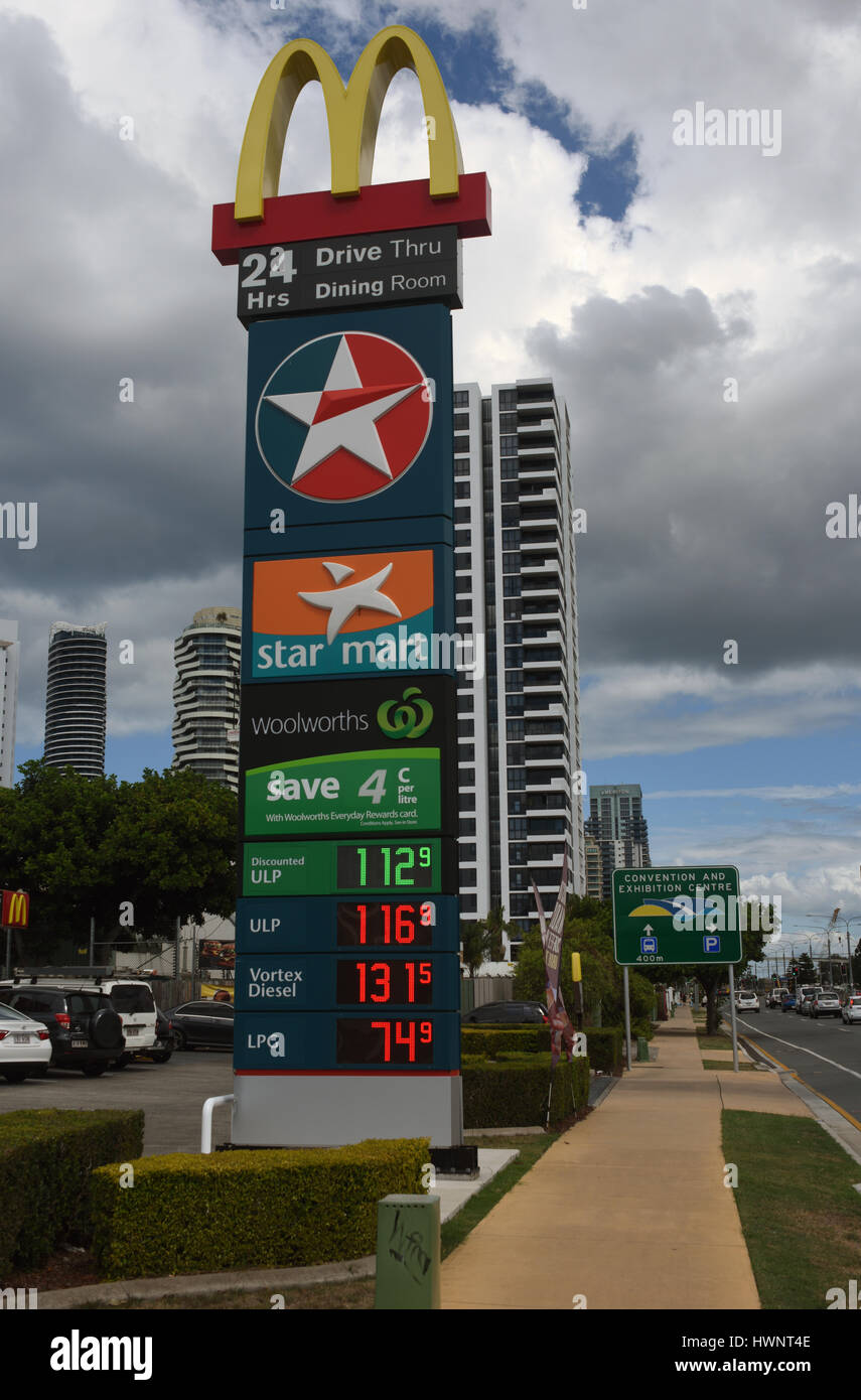 Safeway Gas Prices >> Caltex Stock Photos & Caltex Stock Images - Alamy