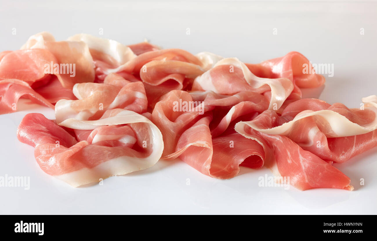 cured pork - Stock Image
