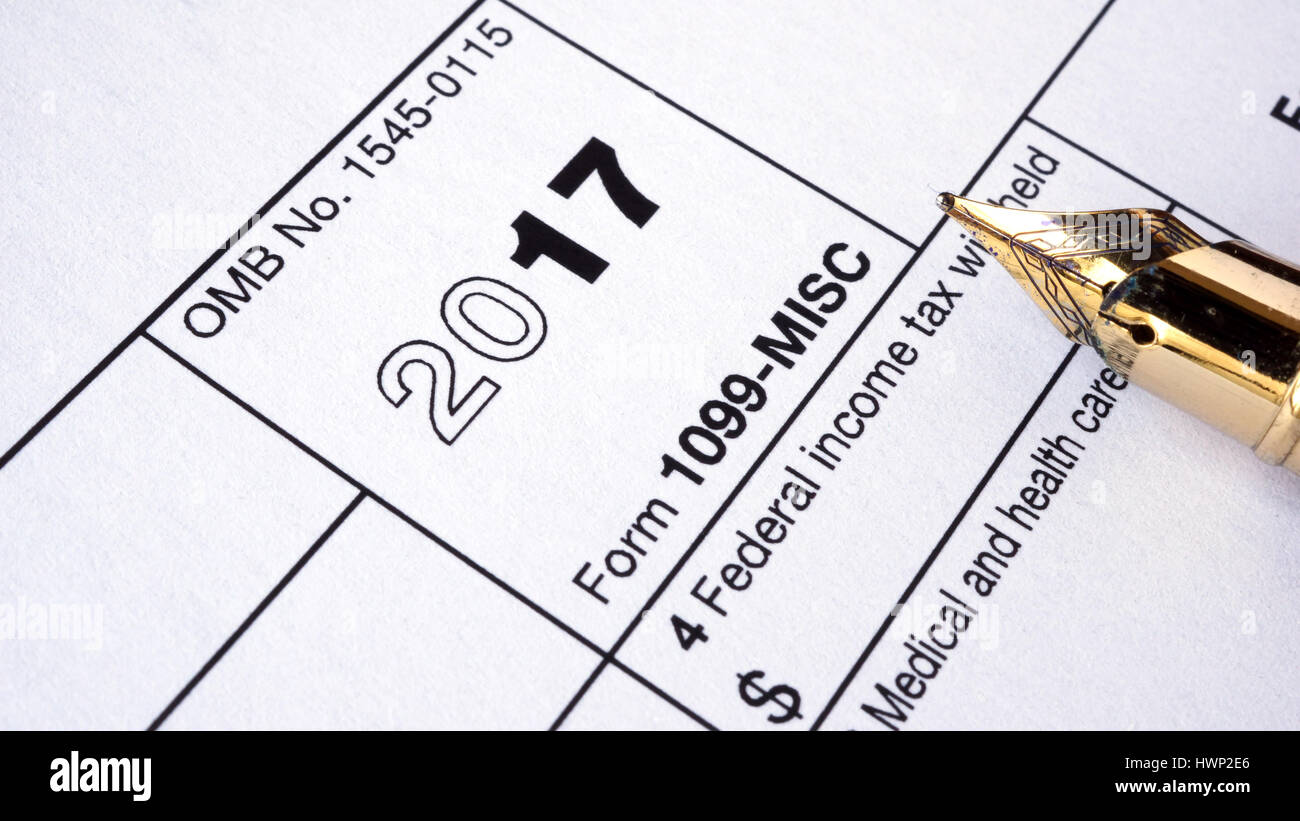 1099 Tax Form Stock Photos 1099 Tax Form Stock Images Alamy