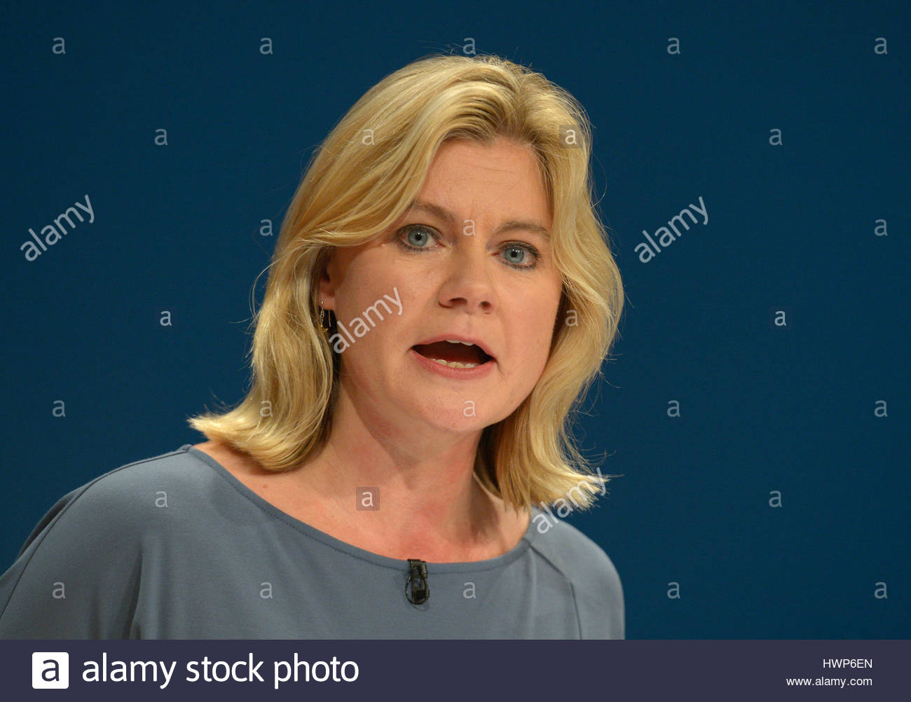 File photo dated 04/10/16 of Education Secretary Justine Greening who is facing fresh pressure over a controversial - Stock Image