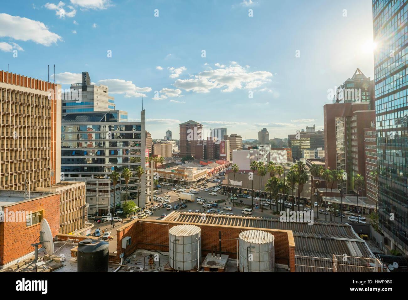 Zimbabwe Harare Capital City Stock Photos & Zimbabwe Harare