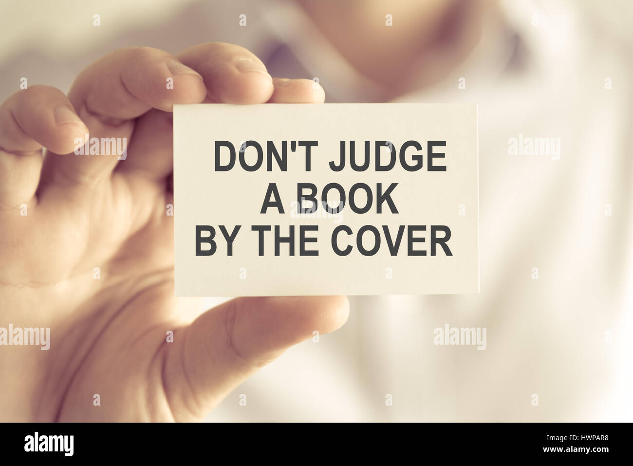 write an essay never judge a book by its cover