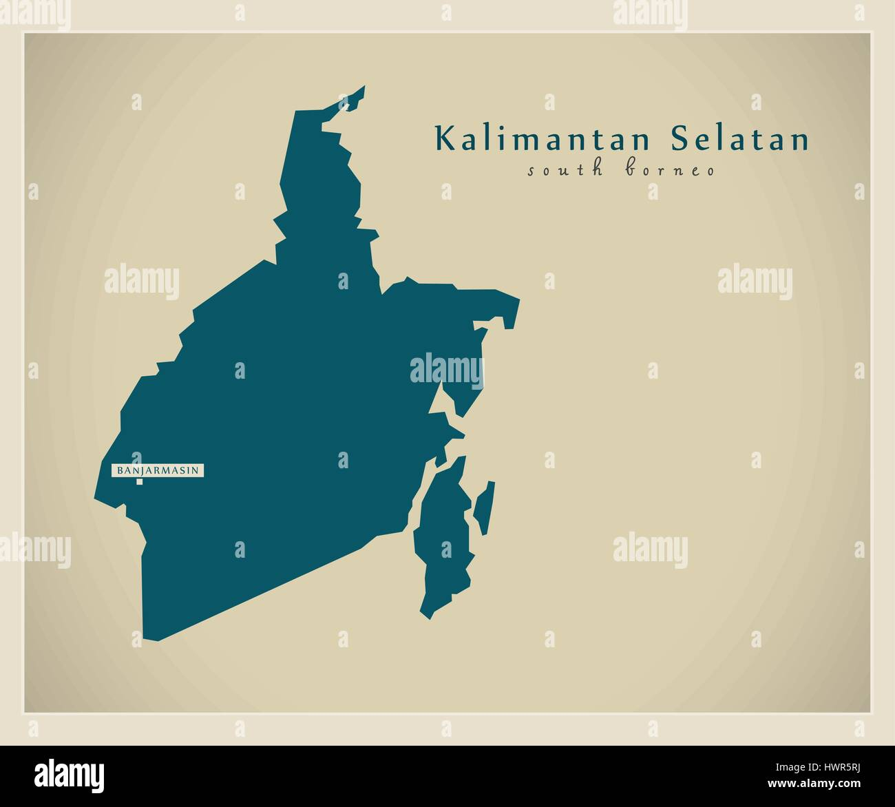 kalimantan vector vectors high resolution stock photography and images alamy https www alamy com stock photo modern map kalimantan selatan id 136348454 html