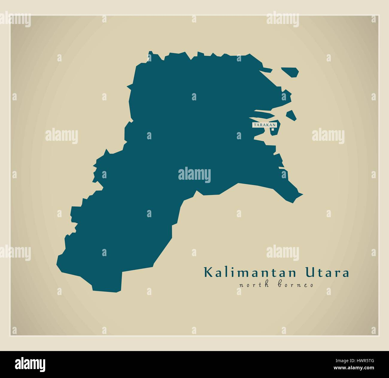 modern map kalimantan utara id stock vector image art alamy https www alamy com stock photo modern map kalimantan utara id 136348480 html