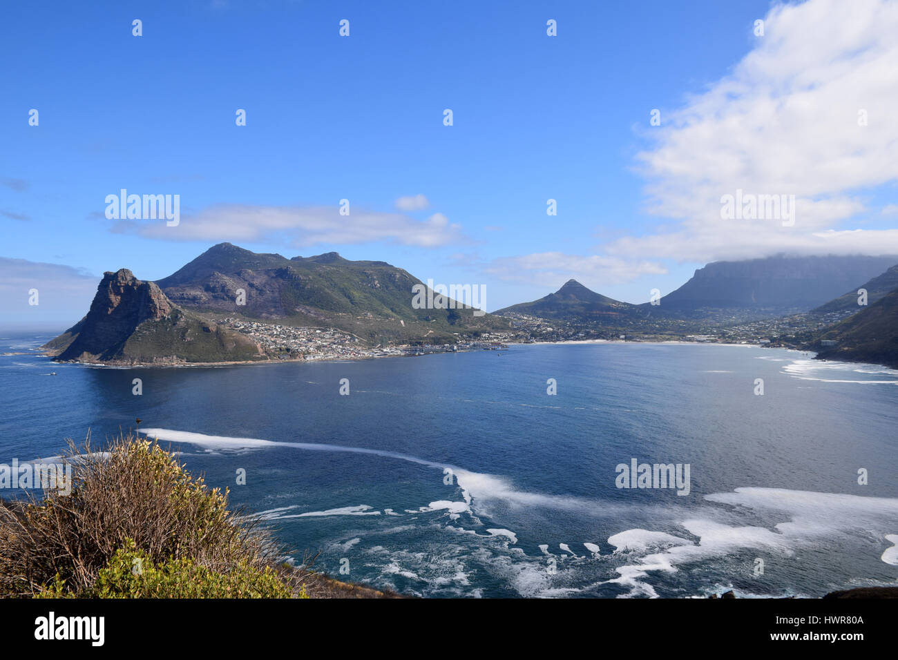 Hout Bay, Western Cape, South Africa - Stock Image
