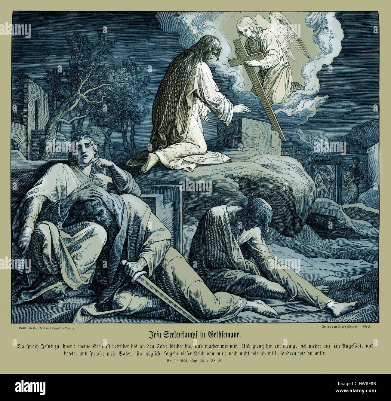 In The Garden Of Gethsemane Stock Photos In The Garden Of