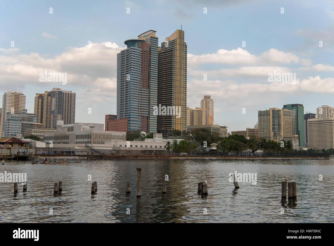 Manila Bay, Philippines - Stock Image