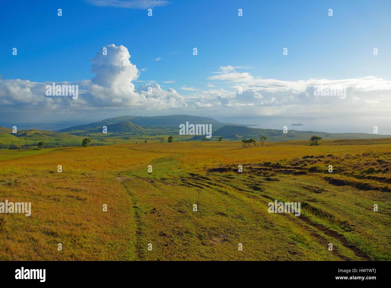 Easter Island - Stock Image