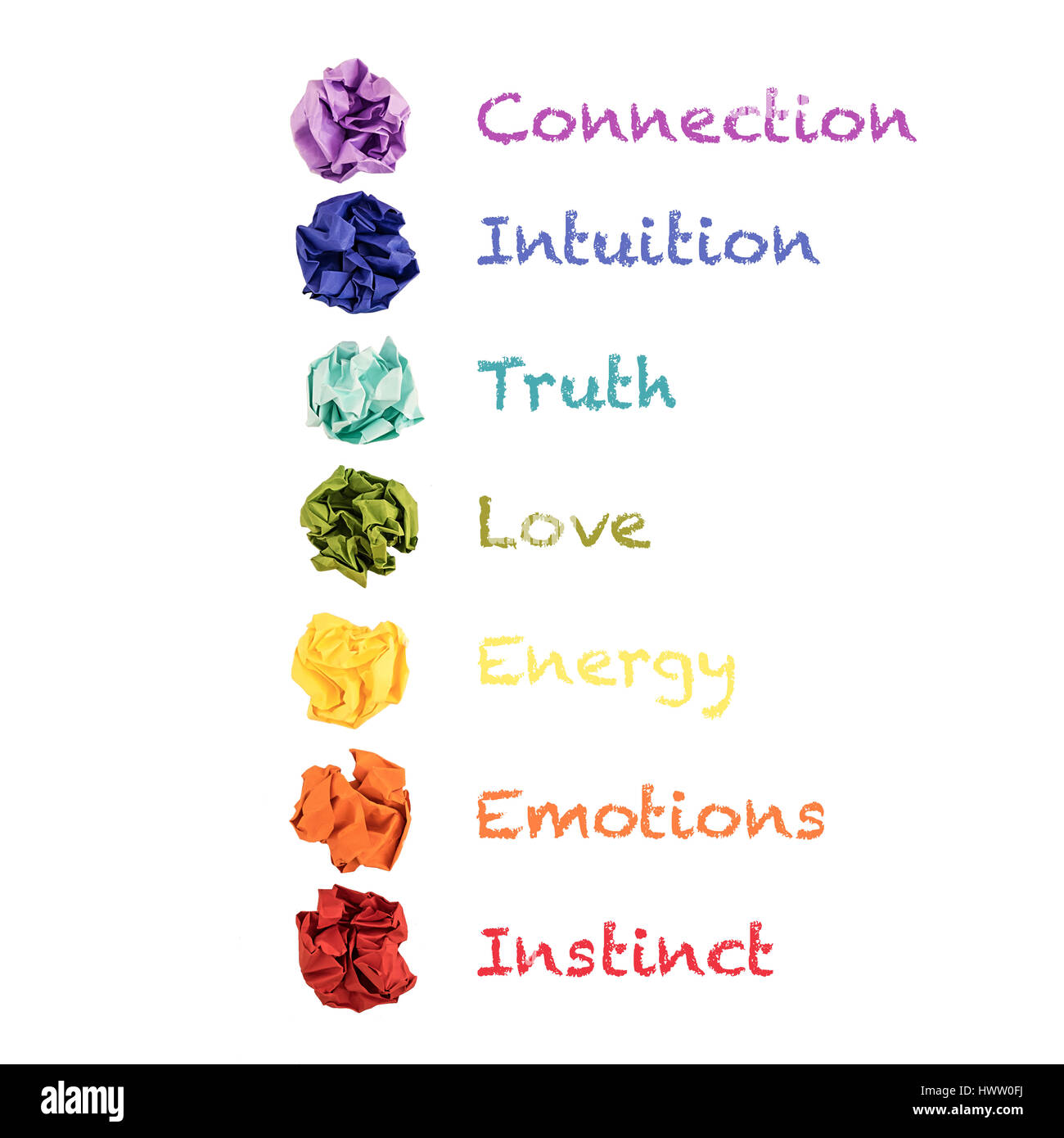 Colored Chakras Stock Photos & Colored Chakras Stock Images - Alamy