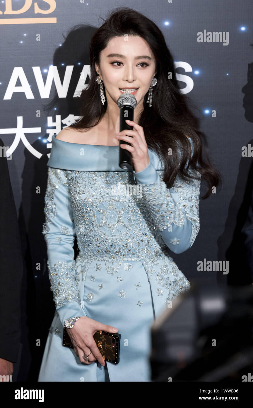 Chinas highest paid actress Fan Bingbing on the red carpet at The