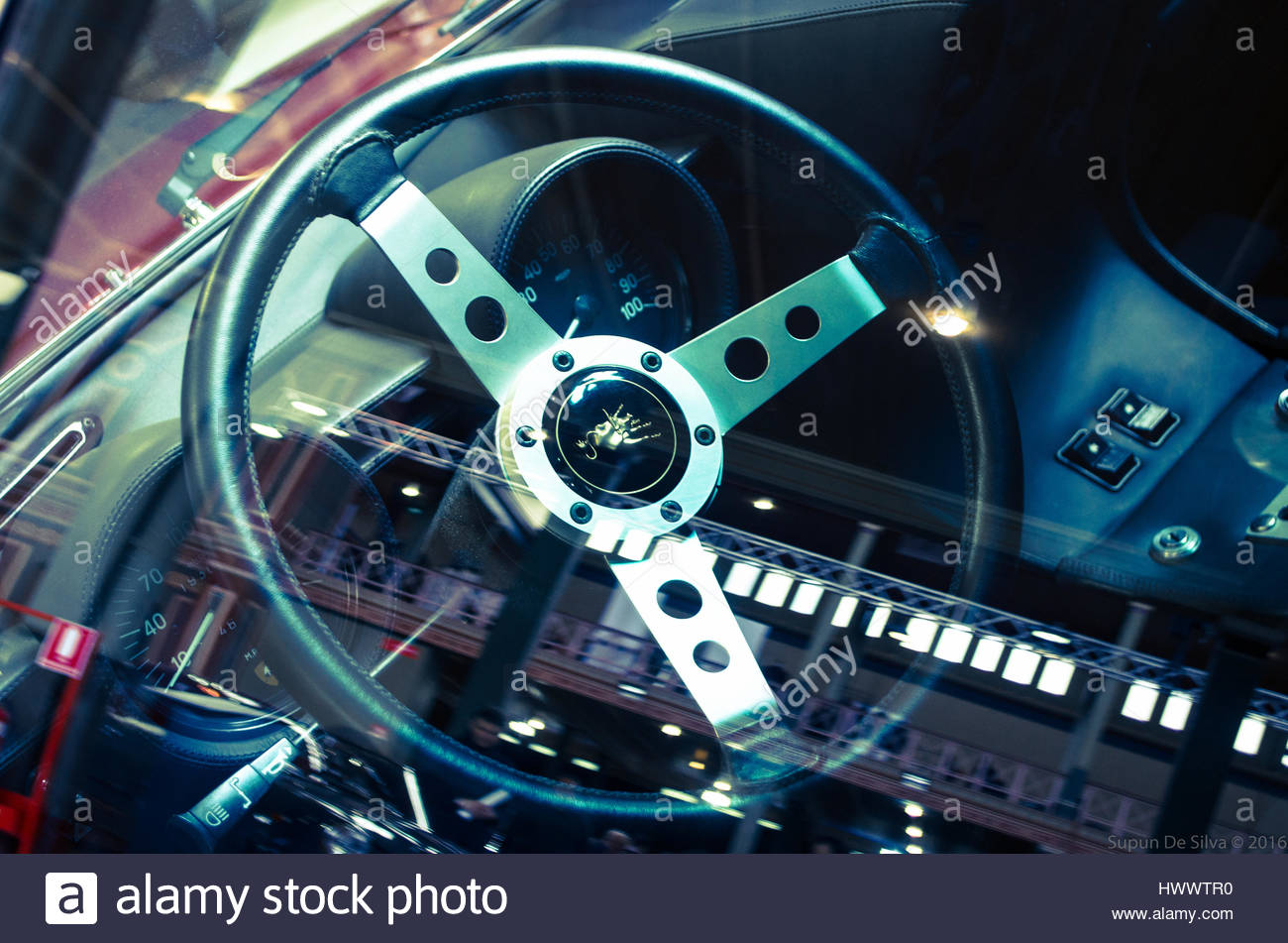Lamborghini Miura Sv Interior Stock Photo 136407236 Alamy