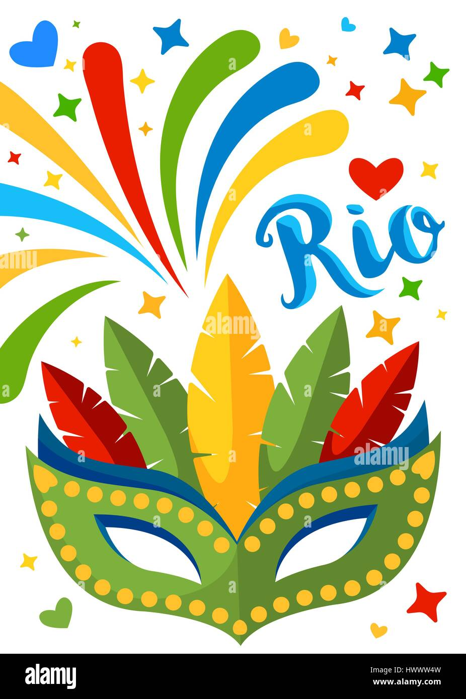 brazil carnival background for placard poster flyer and