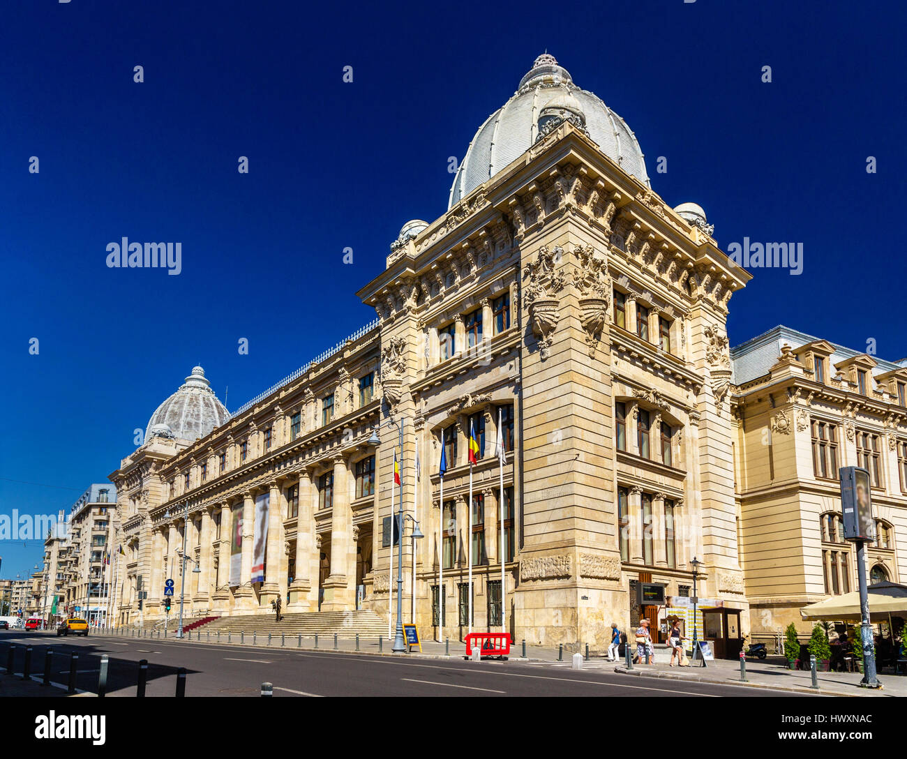 National Museum of Romanian History in Bucharest - Stock Image