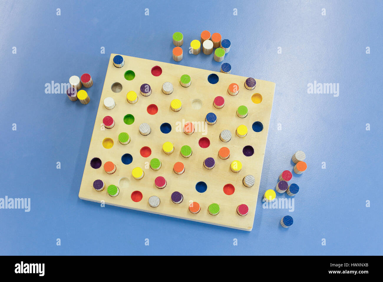 Do it yourself educational wooden colorful game made for stacking do it yourself educational wooden colorful game made for stacking arranging and building learning through experience concept creative playing and solutioingenieria Choice Image