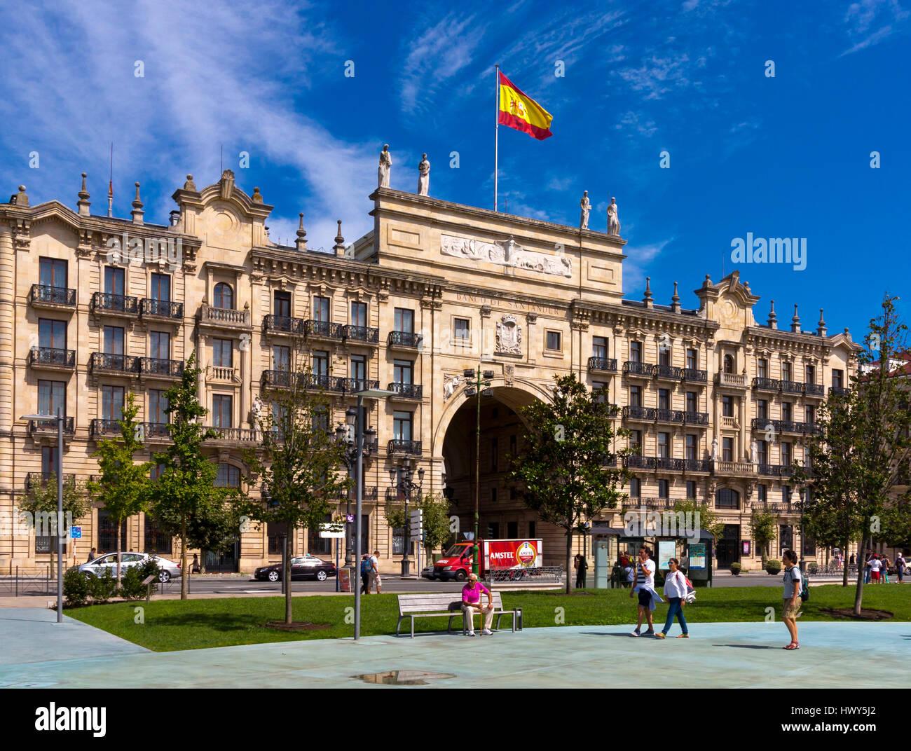 Banco central stock photos banco central stock images alamy - Casas de banco santander ...