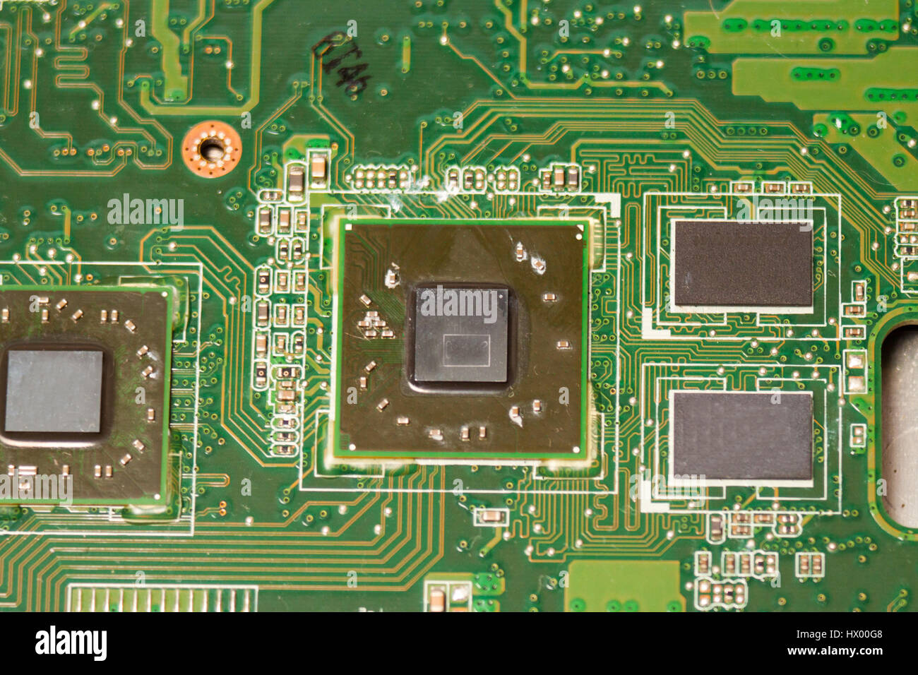 Micro Scheme Stock Photos Images Alamy Electric Circuit Board Processor Tshirt Close Up Of Electronic With Chips And Processors Motherboard Laptop Computer