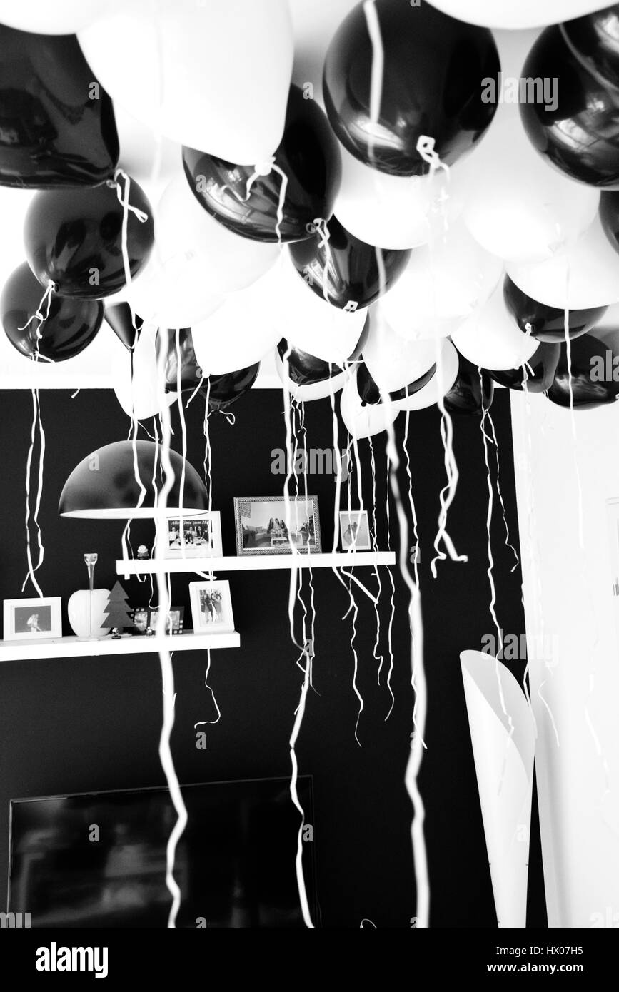 ballon livingroom - Stock Image