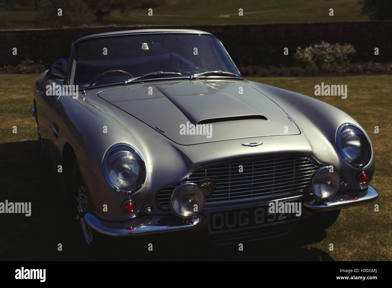 Old Fashioned Aston Martin Car Stock Photo 136466754 Alamy