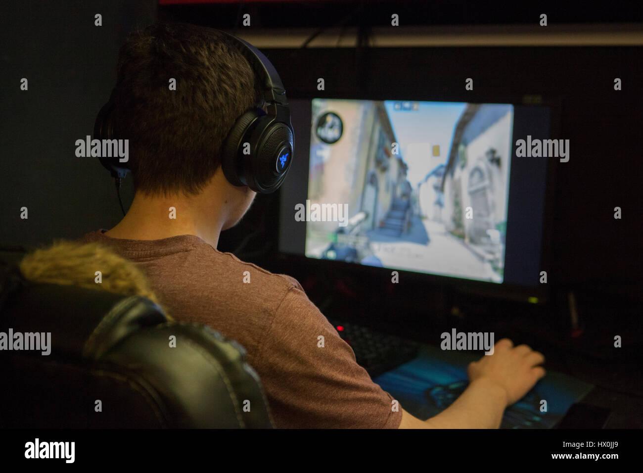 5V5 counter strike global offensive LAN ...