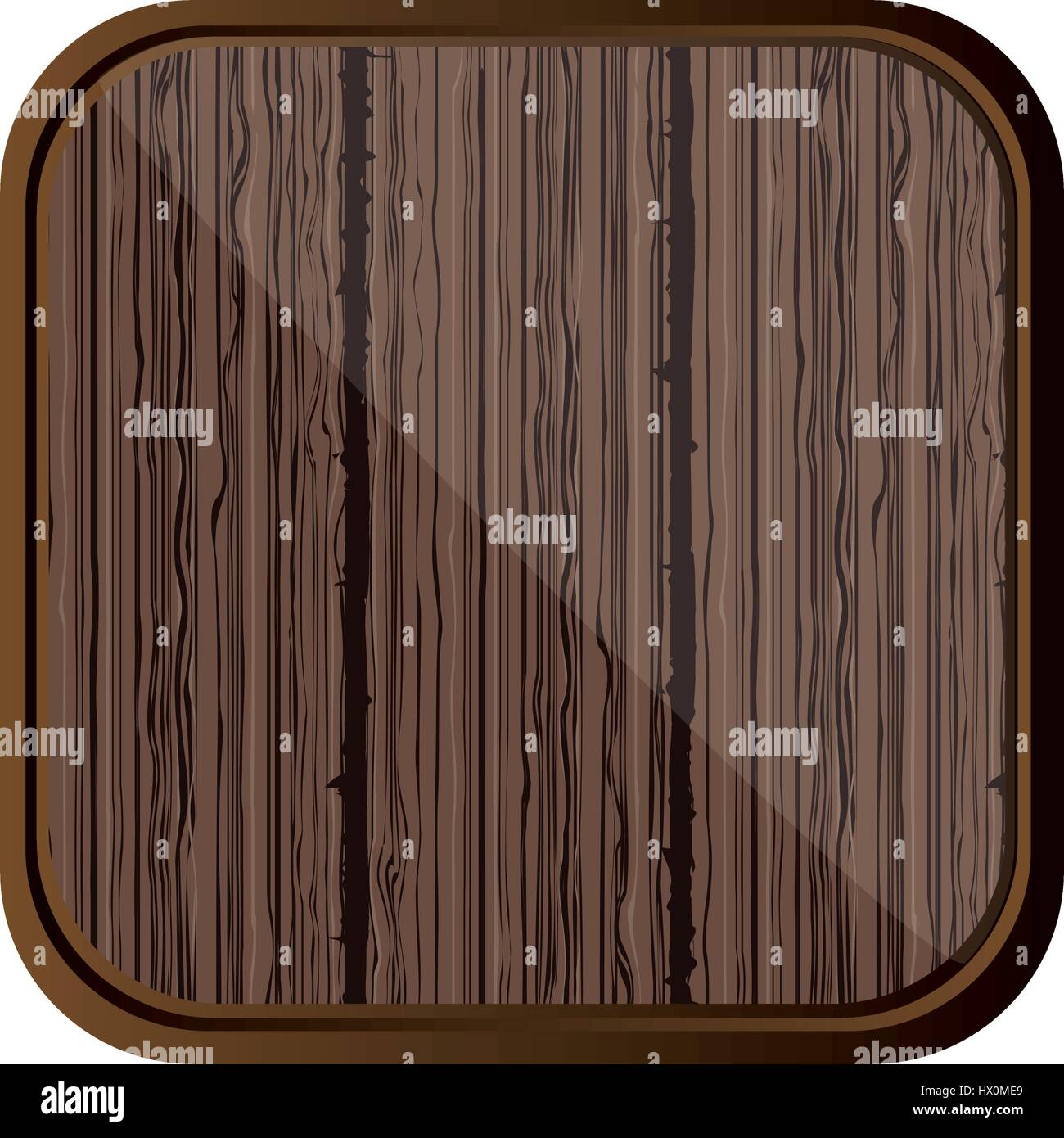 brown wool backgound icon - Stock Vector
