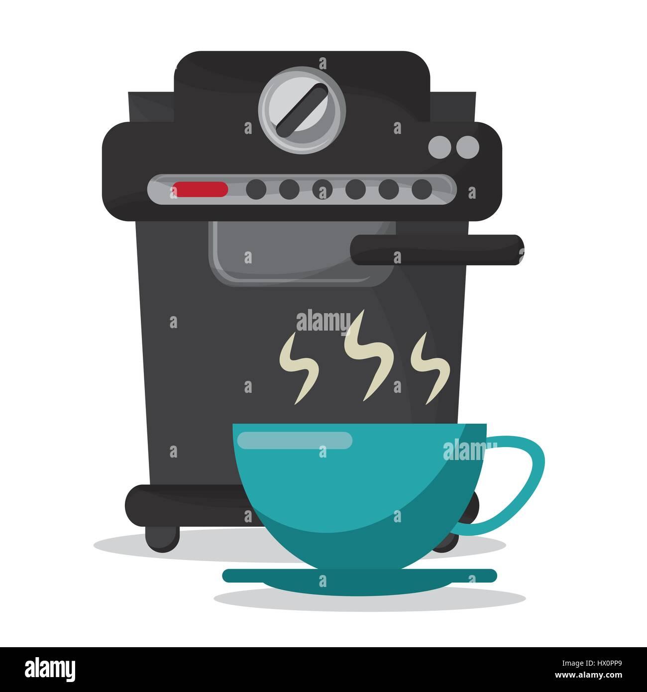 coffee machine eletric iamge - Stock Image