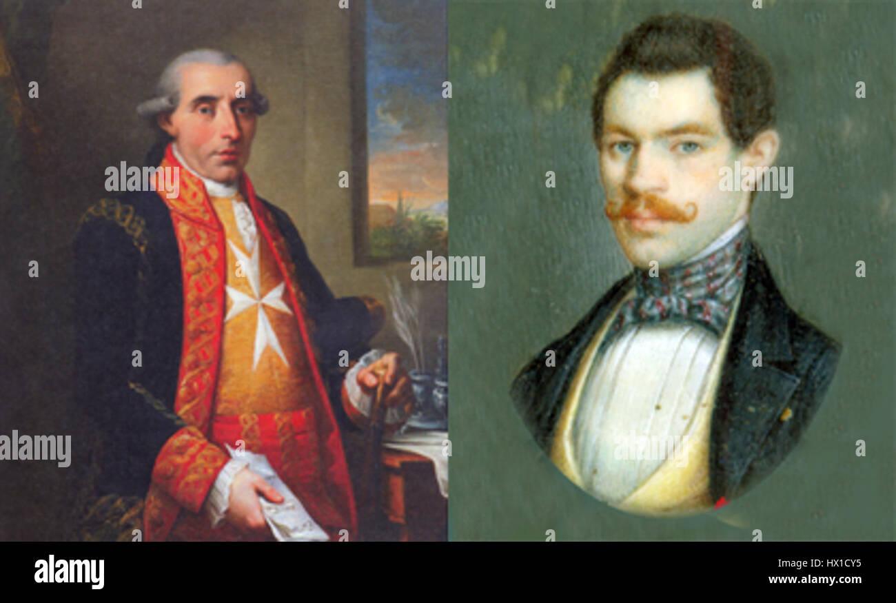 Fernando Casado Torres y Wolfgang Mucha - Stock Image
