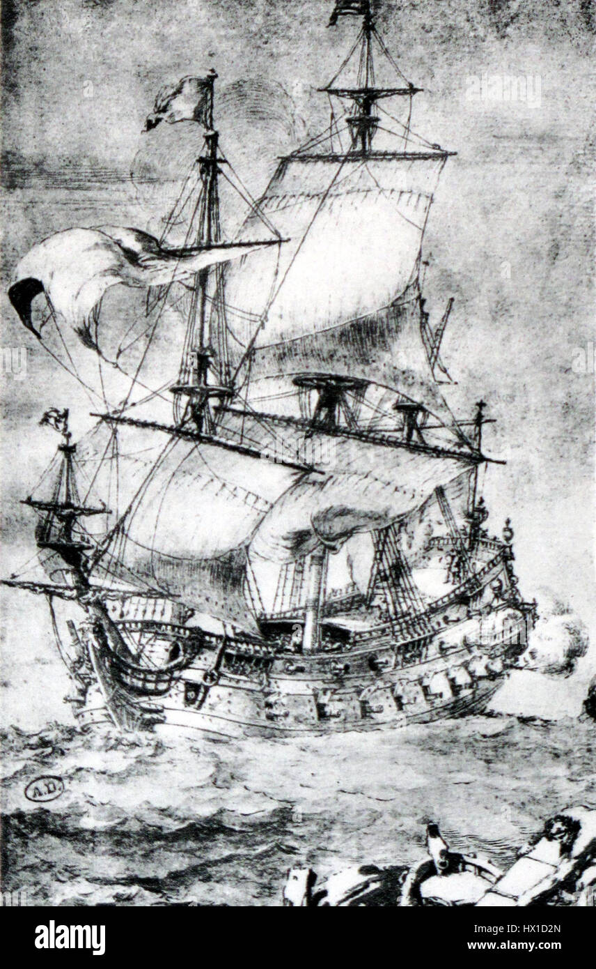 French first rate Pierre Puget img 3212 - Stock Image