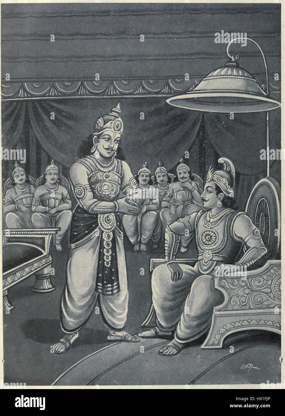 Duryodhana pleads with Shalya ...