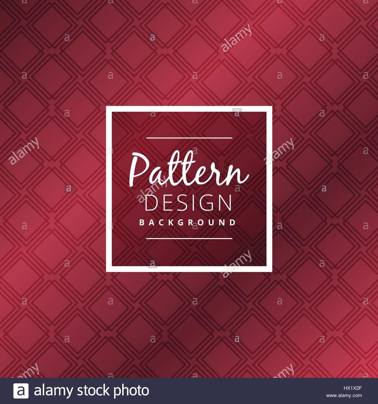 maroon color pattern background vector design illustration - Stock Image