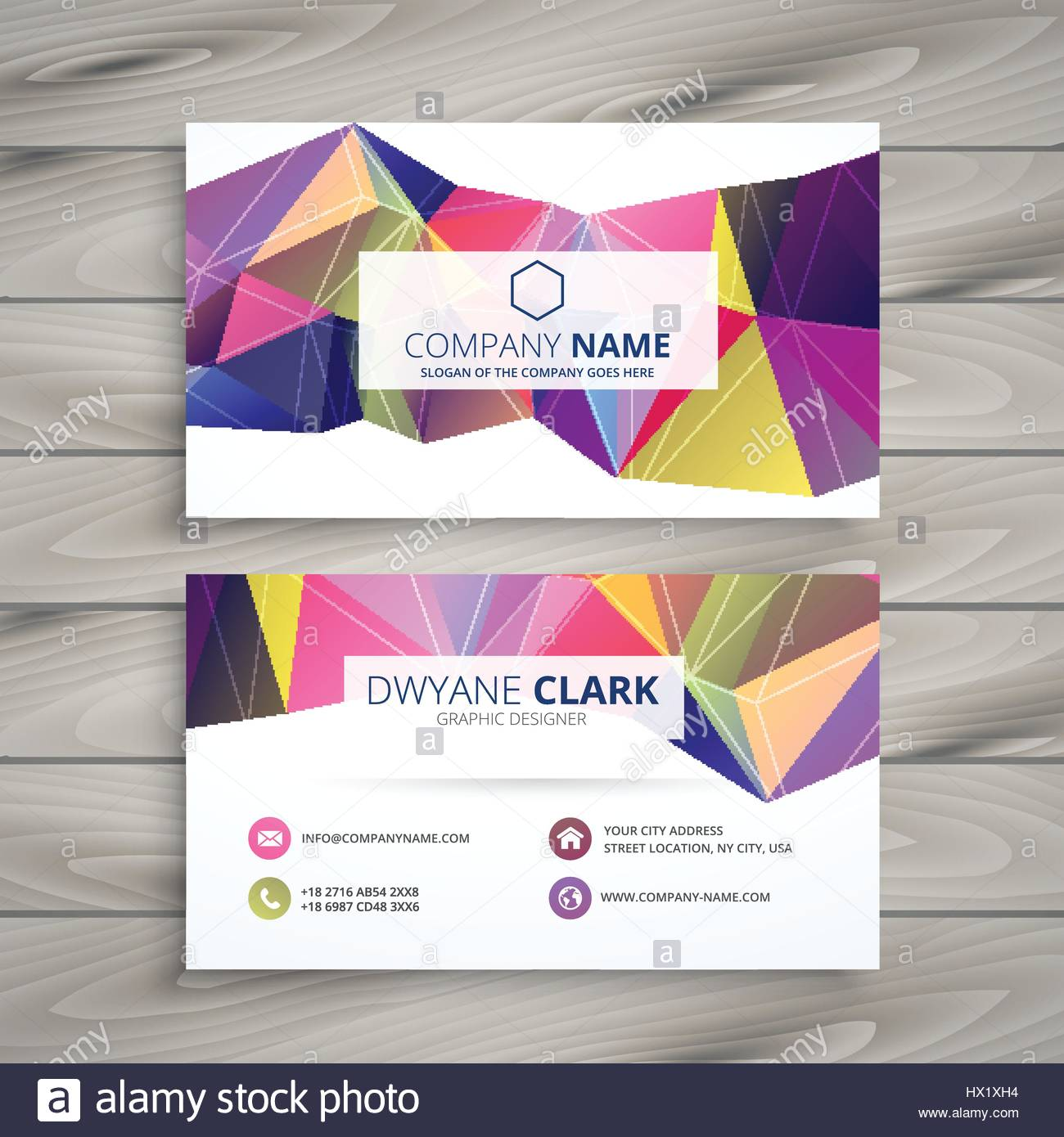 Creative Business Card Template Vector Design Illustration Stock Vector Image Art Alamy,Watercolor Small Simple Owl Tattoo Designs