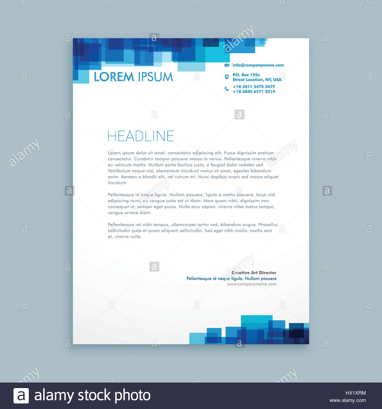 Abstract coporate business letterhead template vector design stock abstract coporate business letterhead template vector design illustration cheaphphosting Gallery