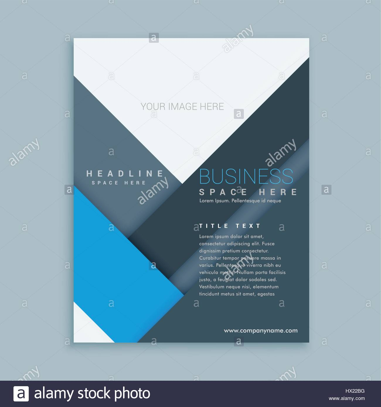 Company Brochure Template In Minimal Stock Photos Company Brochure
