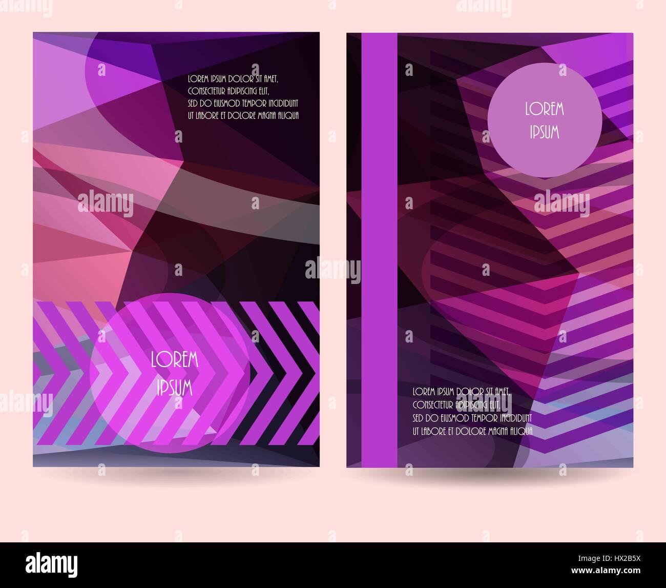 vertical banner template vector illustration promotion brochure