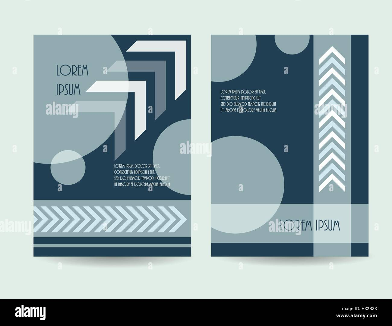 business brochure design vector illustration company catalog stock