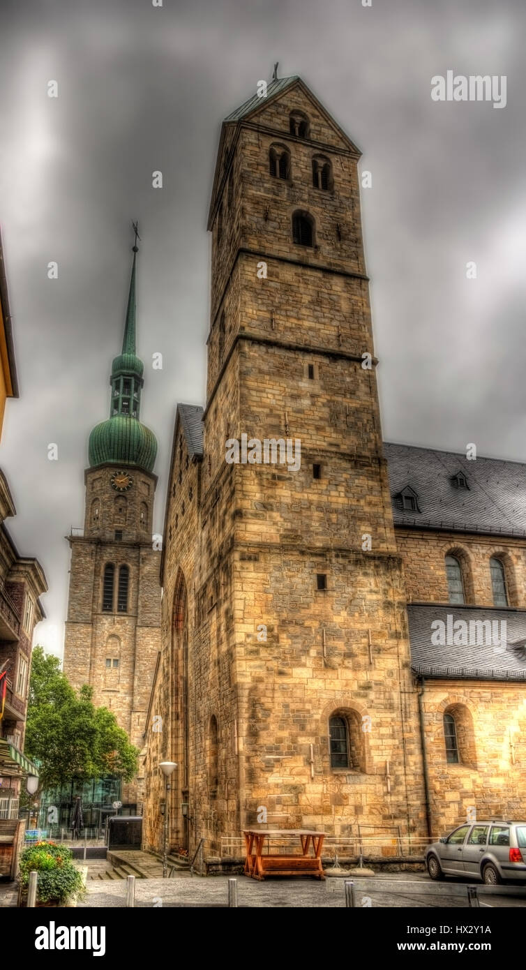Marienkirche (St. Mary's Church) in Dortmund, Germany Stock Photo