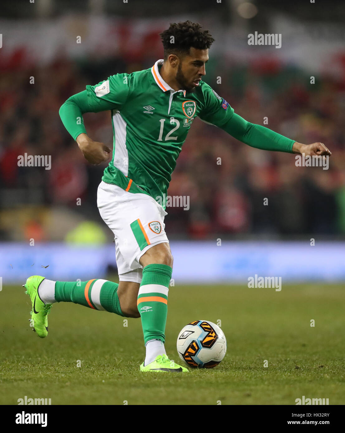Republic Of Ireland S Cyrus Christie During The 2018 Fifa World Cup Qualifying Group D Match At Aviva Stadium Dublin