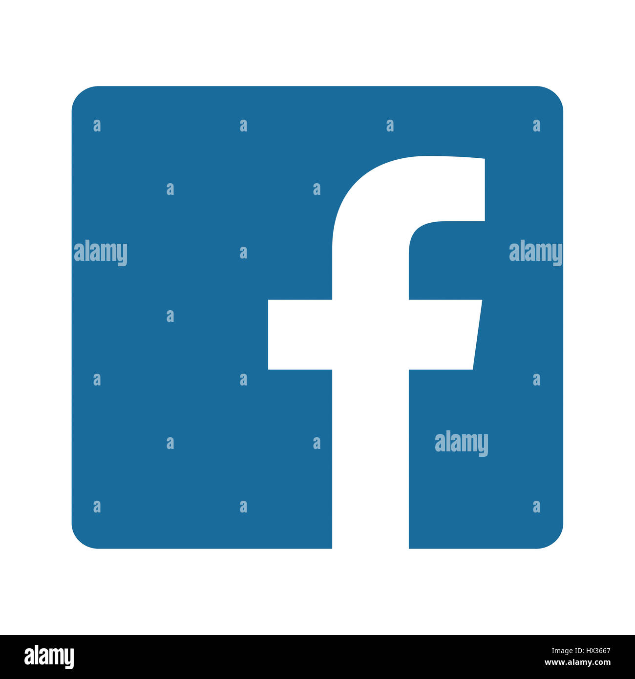 Facebook Logo Cut Out Stock Images & Pictures - Alamy