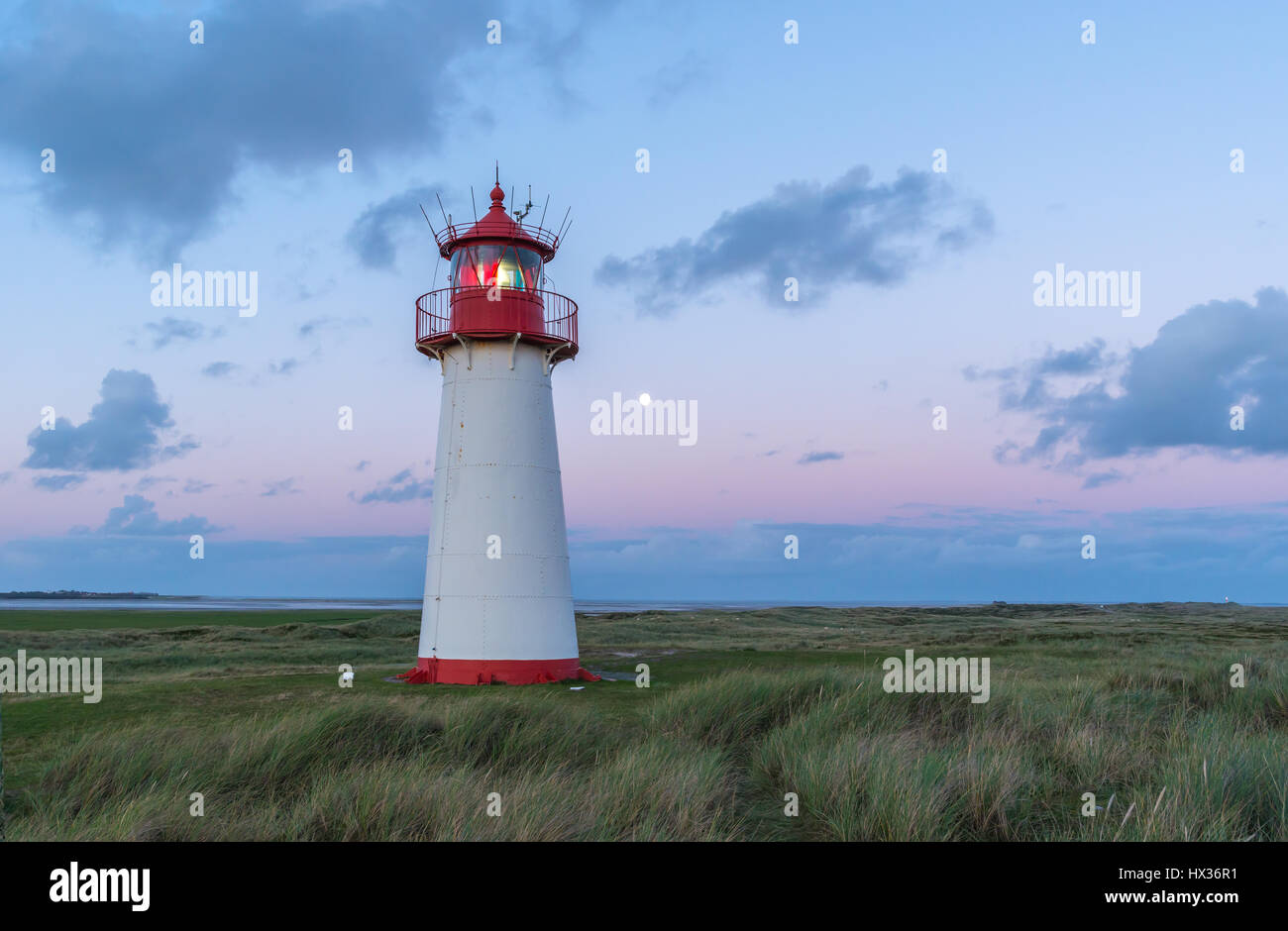 Lighthouse Sylt - Stock Image
