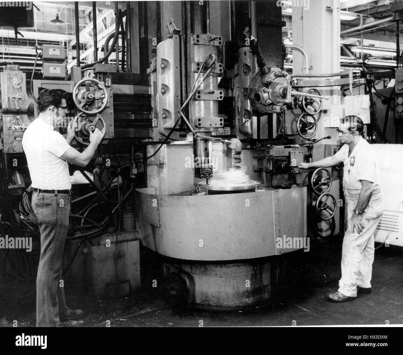 Training and Technology programs at the Oak Ridge Y-12 Plant, Oak Ridge, Tennessee, 1972. Image courtesy US Department - Stock Image