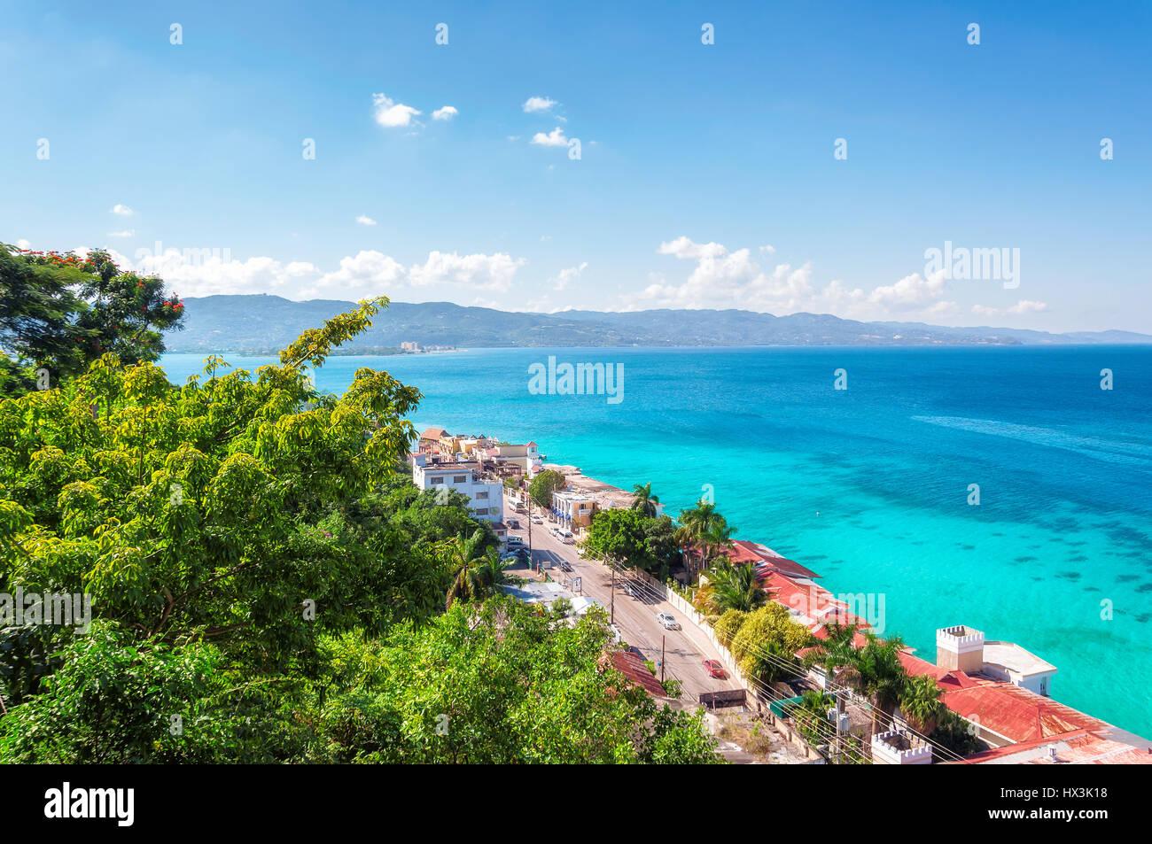 Jamaica island, Montego Bay. - Stock Image