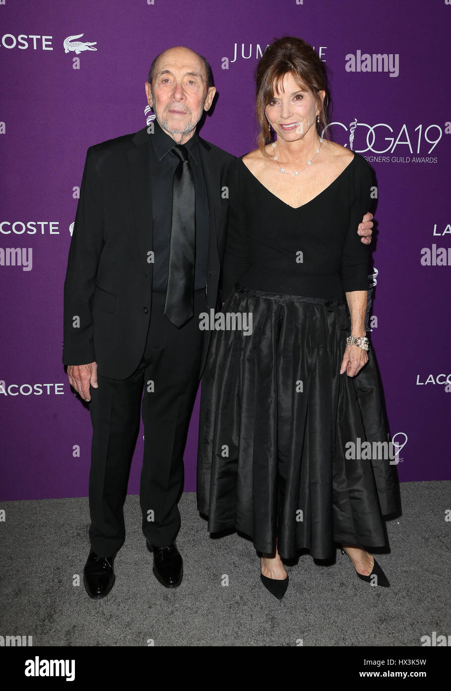 19th CDGA (Costume Designers Guild Awards) held at the Beverly Hilton Hotel - Arrivals  Featuring: Albert Wolsky, - Stock Image