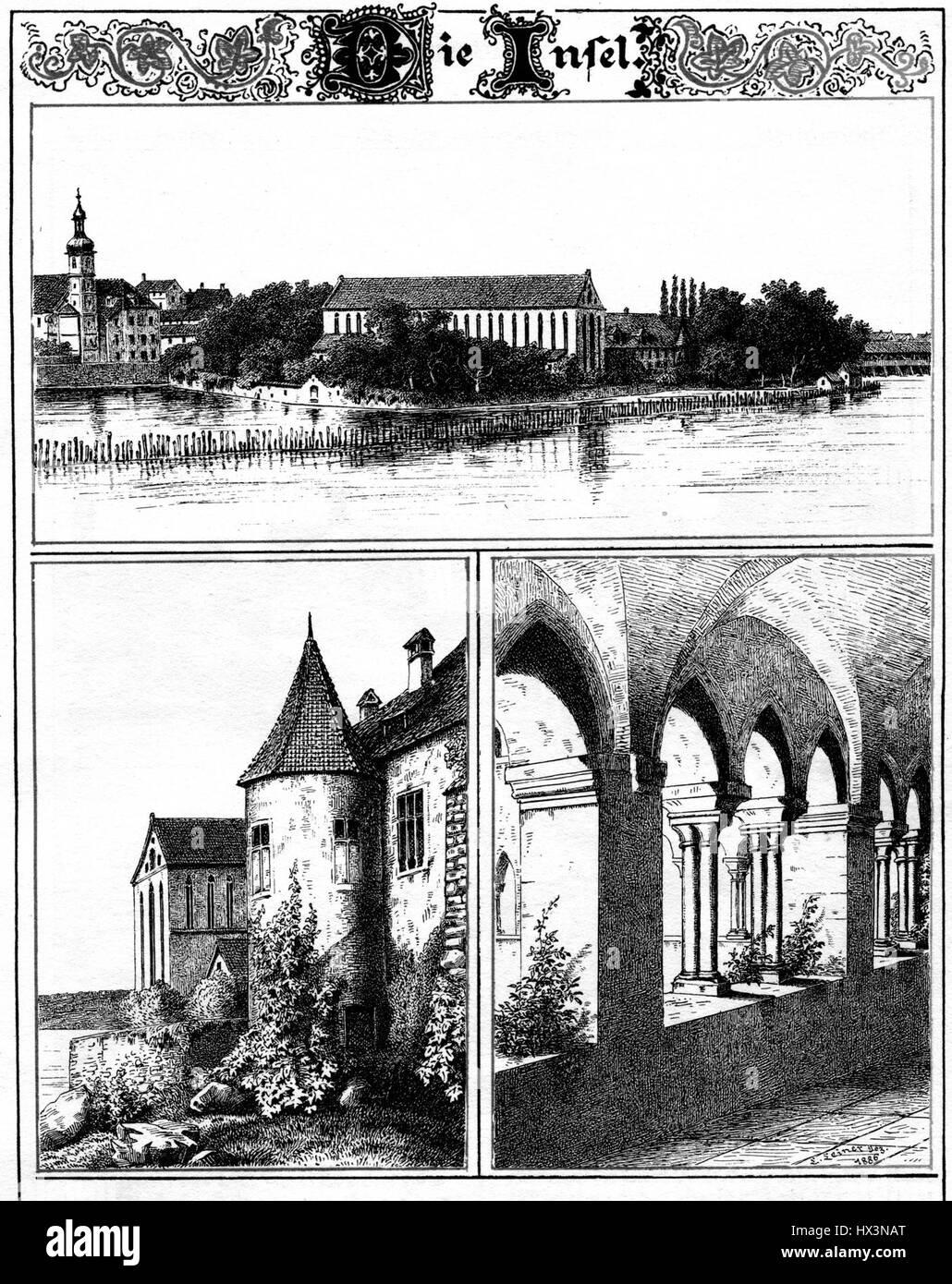 Leiner Konstanz Insel - Stock Image