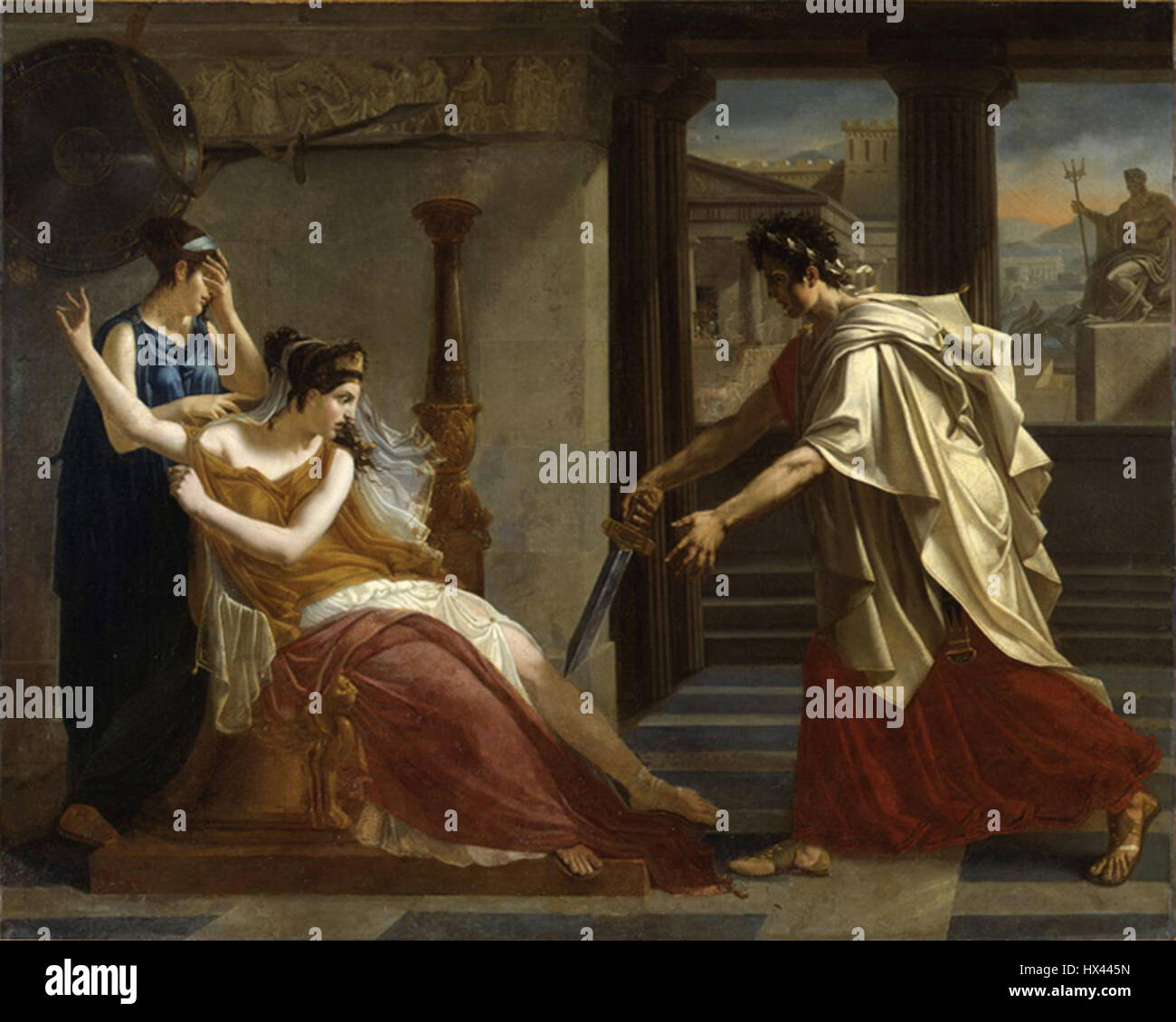 Guerin Hermione et Oreste - Stock Image