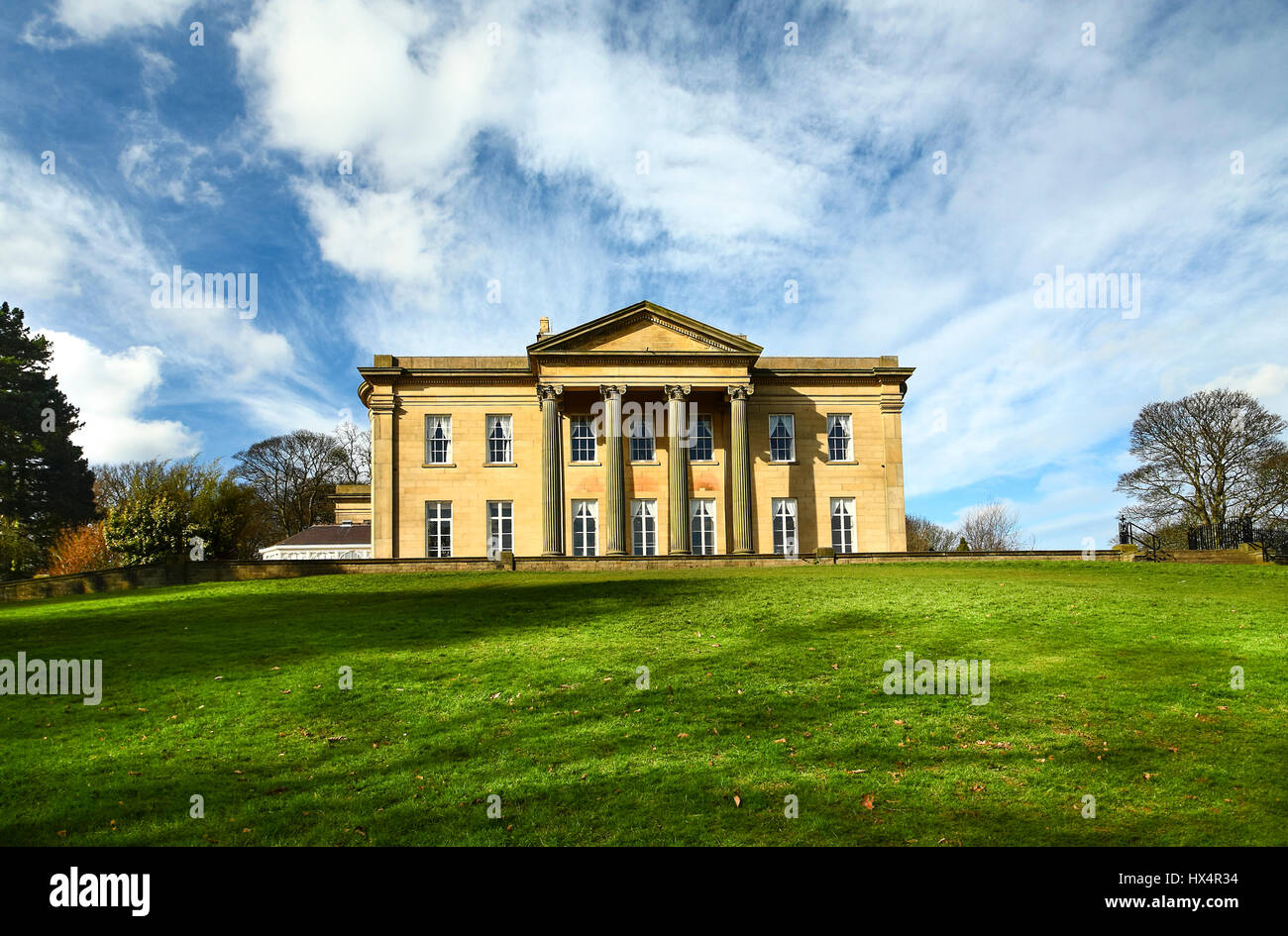 The mansion house Roundhay park Leeds Yorkshire England Stock Photo