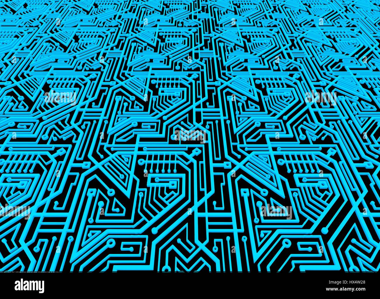 computer circuit board background