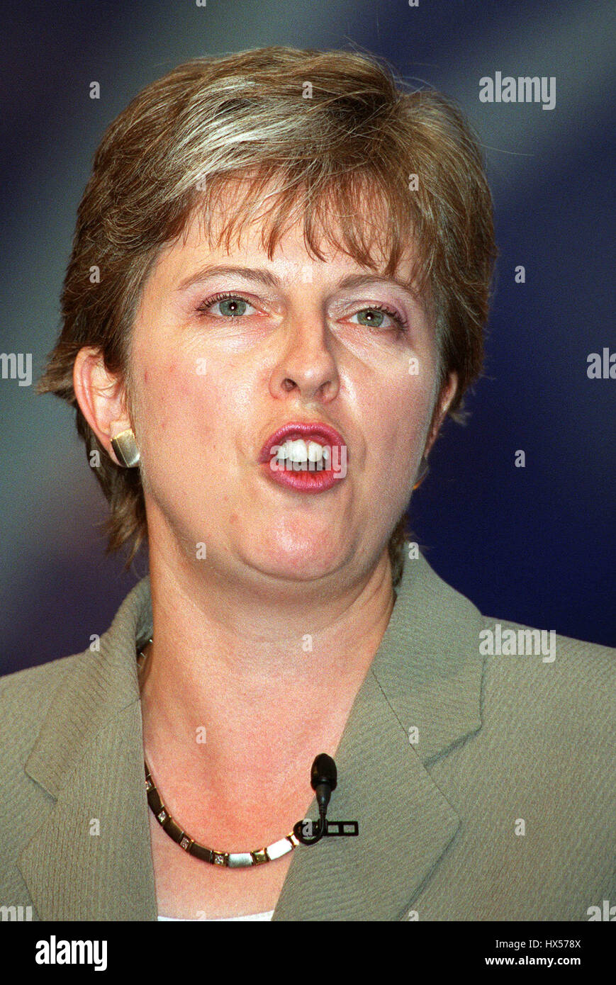 THERESA MAY MP SHADOW CAB. WOMENS ISSUES 02 October 2000 BOURNEMOUTH BOURNEMOUTH - Stock Image
