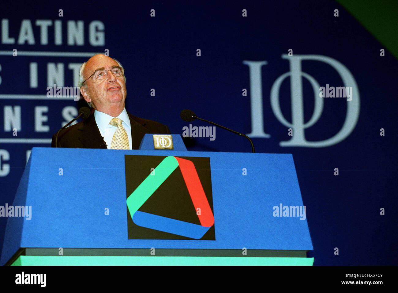 LORD YOUNG PRESIDENT INST. OF DIRECTORS 25 April 2000 - Stock Image